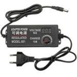 Original 9 – 24V 3A 72W AC / DC Adjustable Power Adapter