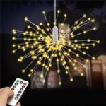 Original Battery Powered 100LED 8 Modes IP65 13 Keys Remote DIY Firework Fairy String Christmas Light