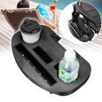 Original Portable Folding Beach Chair Drink Cup Holder Snacks Water Bottle Detachable Shelf Tray
