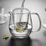 Original 500ml Glass Teapot Infuser Filter Herbal Tea Pot Leaf Strainer Kettle