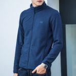 Original Mens Polar Fleece Fall Winter Zipper Casual Jacket