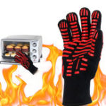 Original BBQ Grill Glove 500℃ Extreme Heat Resistant Gloves Cooking Baking Gloves Camping Picnic
