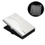 Original IPRee® Stainless Steel Metal Card Holder Credit Card Case Travel Portable ID Card Storage Box