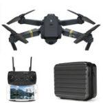 Original Eachine E58 with Storage Box WIFI FPV With 720P Camera High Hold Mode Foldable RC Drone Quadcopter