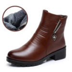 Original Casual Keep Warm Women Snow Ankle Boots