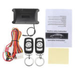 Original Universal Door Lock Vehicle Keyless Entry System Auto Car Remote Central Kit LED