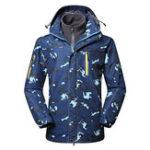 Original Men's Outdoor Detachable Hooded Waterproof Windproof Jacket