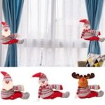 Original Christmas Curtain Tiebacks Window Curtain Buckle Holders Home Decorations Gift
