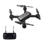 LH-X34F 2.4GHz 4-Axis WiFi RC Drone Quadcopter with Optical Flow Dual Cameras & Remote Control, WiFi Automatic Transmission, Gesture Photographing, Altitude Hold, Headless Mode, One Key Control