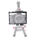 WARAXE 2720 Camera Video Quick Release Cage for Sony A7 & A7S & A7R & A7R II & A7S II(Grey)