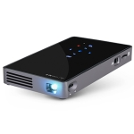 AUN D5S 200 ANSI Lumens 854 x 480(WVGA) DLP Display Portable Projector, Quad Core ARM RK3128, Android 6.0, 1GB + 8GB, Support Bluetooth / WiFi(Black)