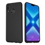 lenuo Leshen Series Stripe Texture TPU Case for Huawei Honor 8X (Black)