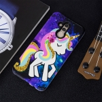 Rainbow Horse Pattern Shockproof TPU Protective Case for Huawei Mate 20 Lite