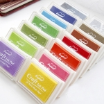 Hot Chic Child Craft Oil Based DIY InkPad Rubber Stamps 15 Colors