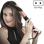 1-1.5 inch Conical Ceramic Hair Curler with Heat-resistant Gloves , EU Plug (Rose Gold)
