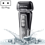 Men Voltage Universal Waterproof Reciprocating Triple Razor head Electric Rechargeable Shaver , EU Plug
