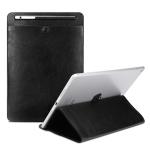 Universal Case Sleeve Bag for iPad 2 / 3 / 4 / iPad Air / Air 2 / Mini 1 / Mini 2 / Mini 3 / Mini 4 / Pro 9.7 /  Pro 10.5, with Pencil Case & Holder(Black)