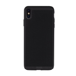 MOFI Honeycomb Texture Breathable PC Shockproof Protective Case for iPhone XS Max (Black)