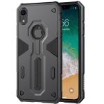 NILLKIN Tough Defener II Case Shockproof TPU + PC Case for iPhone XR (Black)
