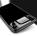 MOFI Full Coverage PC + Lens + Back Camera Glass Case for  iPhone XR(Black)