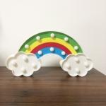 Creative Rainbow Shape Warm White LED Decoration Light