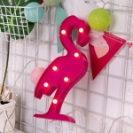 Creative Flamingo Shape Warm White LED Decoration Light