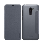 NILLKIN Frosted Texture Horizontal Flip Leather Case for Xiaomi Pocophone F1 / Poco F1 (Grey)