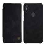 NILLKIN Crazy Horse Texture Horizontal Flip Leather Case for Xiaomi Redmi Note 6 Pro , with Card Slot (Black)