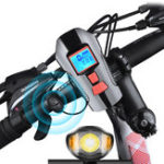 Original XANES SFL15 3 in 1 650LM T6 German Standard Smart Bike Light with 120db Horn Computer Large Floodlight 1500mAh Battery USB Rechargeable Waterproof