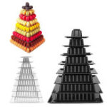 Original 9 Tiers Macaron Tower Cake Stand Cupcake Holder Birthday Wedding Party Decorations