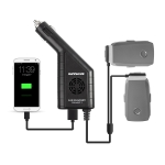 3 in 1 Car Charger Platinum Remote Controller & Battery for DJI MAVIC 2 Pro / Zoom