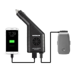 2 in 1 Car Charger Platinum Remote Controller & Battery for DJI MAVIC 2 Pro / Zoom