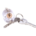Transparent Locksmith Locks Cutaway Training Skill Professional Visible Practice Padlock Copper Lock Pick Tools Hardware