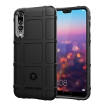 Full Coverage Shockproof TPU Case for Huawei P20 Pro (Black)