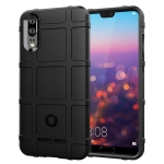 Full Coverage Shockproof TPU Case for Huawei P20 (Black)