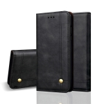 Casual Style Retro Crazy Horse Texture Horizontal Flip Leather Case for Huawei Mate 20, with Card Slots & Holder & Wallet (Black)