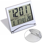 MT-033 LCD Display Portable Folding Digital Travel Temperature Alarm Clock