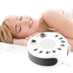 White Noise Machine Sleep Aid Device Improves Sleeping with Nine Timed Music(White)