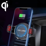OCUBE O-C02 QC2.0 / QC3.0 Wireless Charger Car Air Outlet Holder Charger,Support 4 inch to 6.5 inch Phones