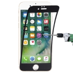 0.1mm 9H Full Screen Flexible Fiber Tempered Glass Film for iPhone 8 & 7(Black)
