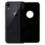 9H 3D Full Coverage Tempered Glass Back Screen Film for iPhone XR (Black)