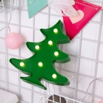 Creative Christmas Tree Shape Warm White LED Decoration Light