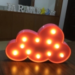 Creative Cloud Shape Warm White LED Decoration Light