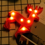 Creative Deer Shape Warm White LED Decoration Light