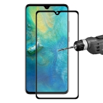 ENKAY Hat-Prince 0.2mm 9H 3D Curved Carbon Fiber Full Screen Coverage Tempered Glass Film for Huawei Mate 20 (Black)