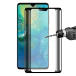 ENKAY Hat-Prince 0.2mm 9H 3D Full Screen Carbon Fiber Tempered Glass Film for Huawei Mate 20(Black)
