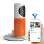 Automatically Enable Light Sensor Intelligent Home Wireless Wifi IP Camera , Support Video & Snapshot & Infrared Detect(Orange)