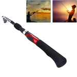 1.6m Straight Shank 7 Sections Portable Telescopic Fishing Pole, Min Length: 38.5cm