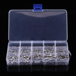 480 PCS DIN912 Hex Socket Screws Bolts Nut M2 M3 M4 Stainless Steel Cap Head Screw Set
