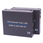 NK-E200IR 200m Over LAN HDMI H.264 HD (Transmitter + Receiver) Extender with IR